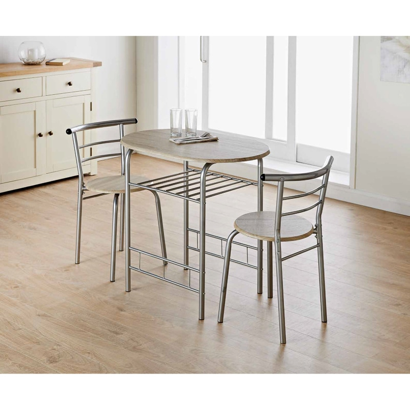 Dallas Dining Set 3Pc intended for 3 Piece Dining Sets