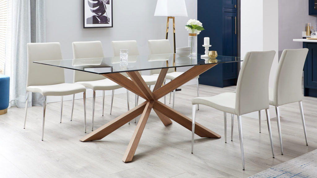 Danetti | Contemporary Furniture, Dining Tables And Chairs For North Reading 5 Piece Dining Table Sets (Image 9 of 25)