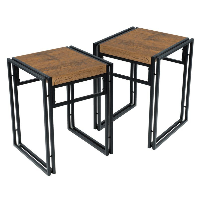 Debby Small Space 3 Piece Dining Set In 2019 | Shelter Project With Regard To Debby Small Space 3 Piece Dining Sets (Image 2 of 25)