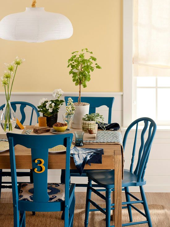 Decorating Updates For Less | Kitchens & Dining Rooms | Kitchen Intended For Wallflower 3 Piece Dining Sets (Image 5 of 25)