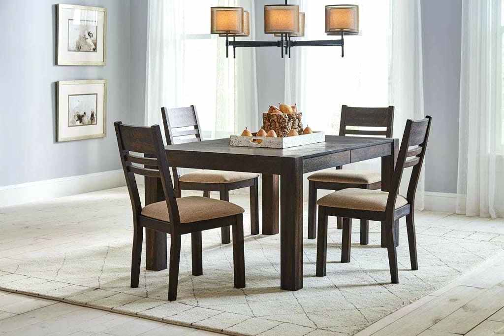 Design North Reading 5 Piece Dining Table Set Reviews Pc Metal And inside North Reading 5 Piece Dining Table Sets