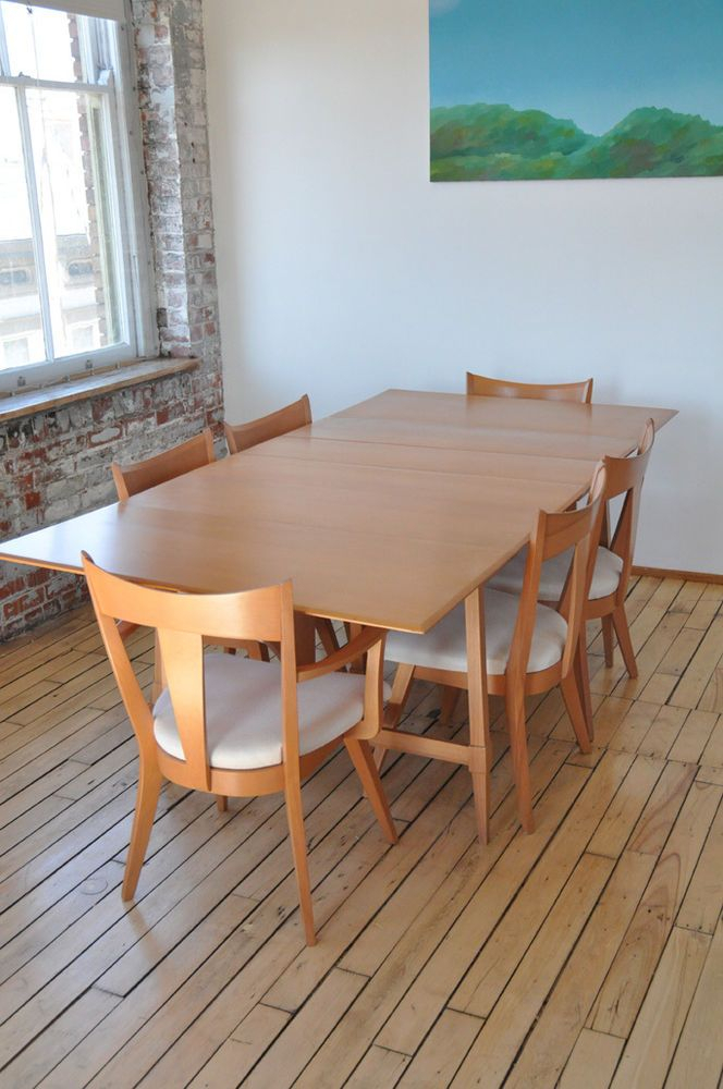 Details About Wyndenhall Tierney Mid Century Modern 7 Pc Dining Set For Tavarez 5 Piece Dining Sets (Image 6 of 25)