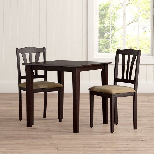 Dinah 3 Piece Dining Set | The Penguin Place | 3 Piece Dining Set pertaining to Tenney 3 Piece Counter Height Dining Sets