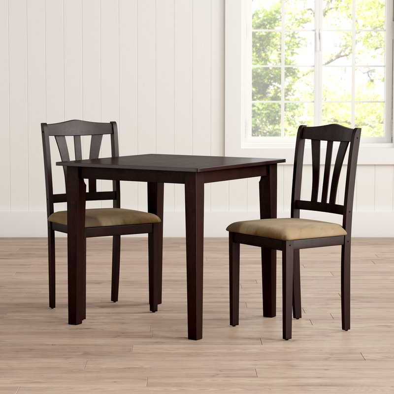 Dinah 3 Piece Dining Set Throughout Ryker 3 Piece Dining Sets (View 13 of 25)