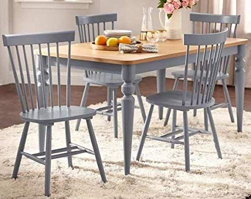 Dinette Sets For Small Spaces Dinning Room Table Set Five Piece Gray For Noyes 5 Piece Dining Sets (Image 6 of 25)