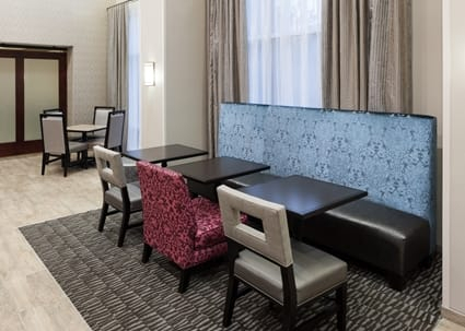 Dining At Hampton Inn Westford-Chelmsford, Ma Hotel inside Chelmsford 3 Piece Dining Sets