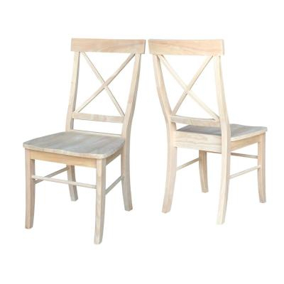 Dining Chairs – Kitchen & Dining Room Furniture – The Home Depot For Falmer 3 Piece Solid Wood Dining Sets (Image 6 of 25)