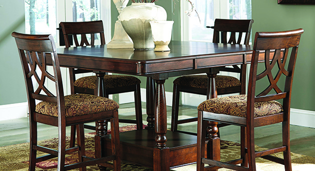 Dining Room Furniture Palace Regarding Northwoods 3 Piece Dining Sets (View 7 of 25)