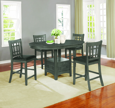 Dining Room Sets In Penelope 3 Piece Counter Height Wood Dining Sets (Image 7 of 25)