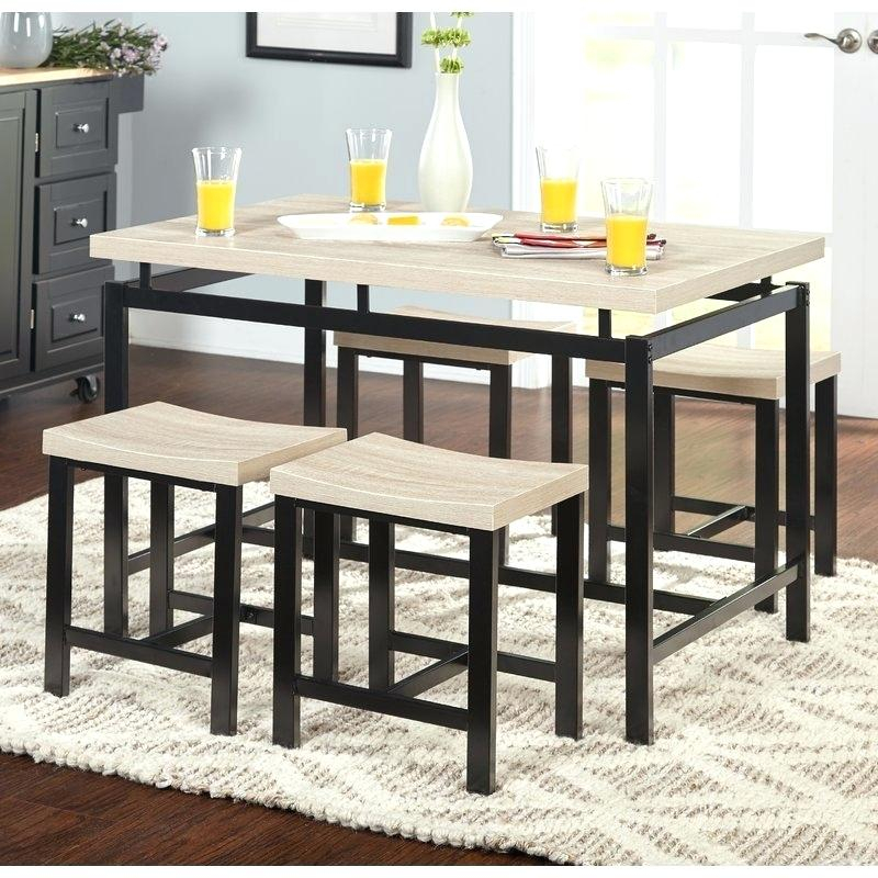 Dining Room Sets Kitchen Dining Room Furniture The Home Depot Cheap in Bryson 5 Piece Dining Sets