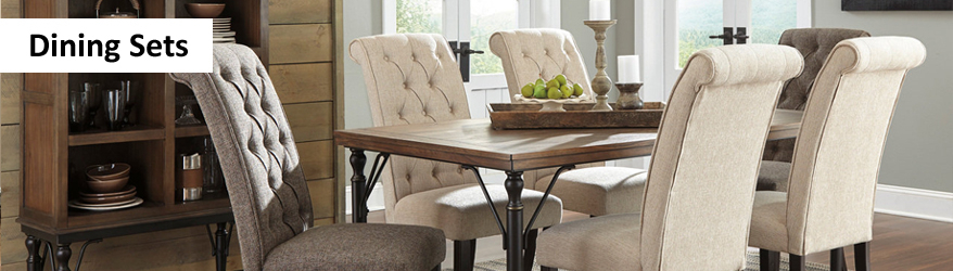 Dining Room Tables & Sets | Living Room Furniture Arlington Tx Inside Amir 5 Piece Solid Wood Dining Sets (Set Of 5) (View 18 of 25)