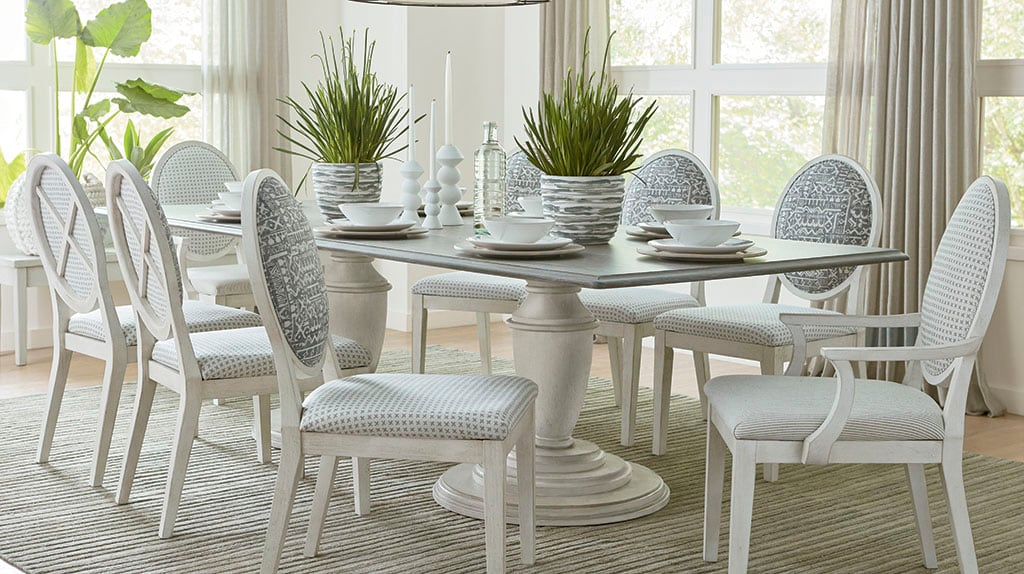 Dining Rooms We Love | Rooms We Love | Bassett Furniture with North Reading 5 Piece Dining Table Sets