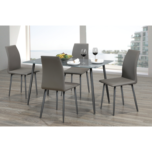 Dining Sets: Dining Tables & Chairs | Best Buy Canada For Adan 5 Piece Solid Wood Dining Sets (Set Of 5) (Image 12 of 25)