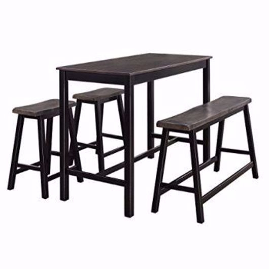 Dining Sets | Exclusive Furniture pertaining to Sheetz 3 Piece Counter Height Dining Sets