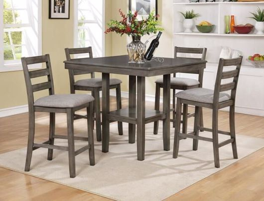 Dining Sets | Exclusive Furniture Regarding Sheetz 3 Piece Counter Height Dining Sets (View 25 of 25)