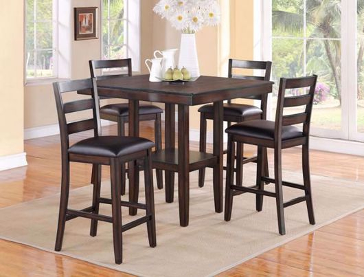 Dining Sets | Exclusive Furniture Regarding Sheetz 3 Piece Counter Height Dining Sets (View 7 of 25)