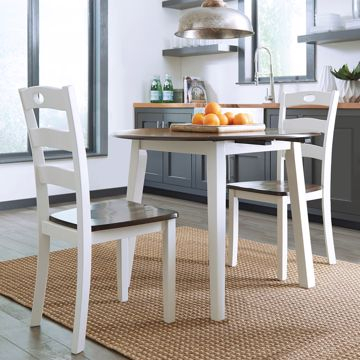 Dining Sets| Lifestyle Furniturebabette's Pertaining To 3 Piece Dining Sets (View 20 of 25)