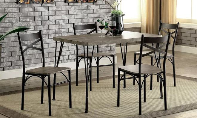 Dining Sets & Tables Up To 65% Off + Free Shipping – Prices Starting Intended For Sheetz 3 Piece Counter Height Dining Sets (Photo 8 of 25)
