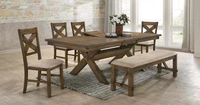 Dining Sets & Tables Up To 65% Off + Free Shipping – Prices Starting Within Middleport 5 Piece Dining Sets (Image 6 of 25)