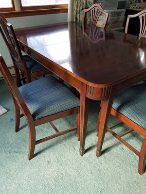 Dining Table For Sale – Offerup Pertaining To Falmer 3 Piece Solid Wood Dining Sets (Image 8 of 25)