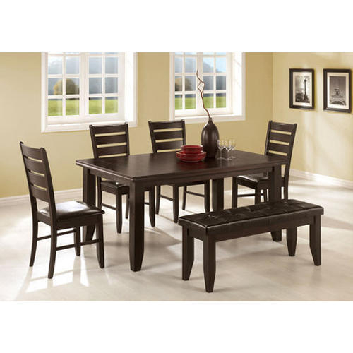 Dining Table Set Regarding Amir 5 Piece Solid Wood Dining Sets (Set Of 5) (View 6 of 25)