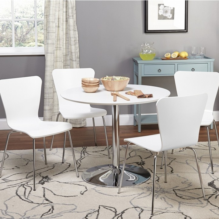 Dining Tables For Small Spaces – Small Spaces – Lonny Regarding Taulbee 5 Piece Dining Sets (View 11 of 25)