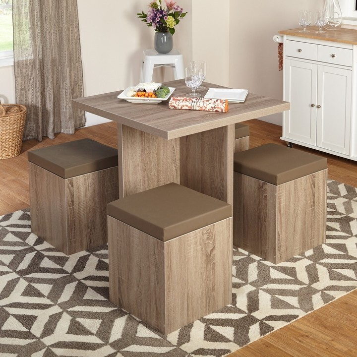 Dining Tables For Small Spaces – Small Spaces – Lonny With Taulbee 5 Piece Dining Sets (View 23 of 25)