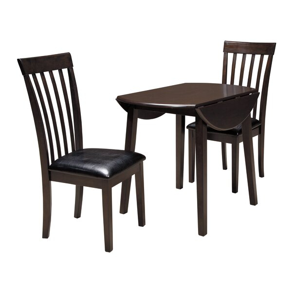 Drop Leaf Set | Wayfair Intended For Poynter 3 Piece Drop Leaf Dining Sets (View 9 of 25)