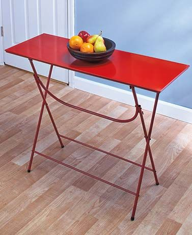 Easy Up Portable Console Tables | Living Room - - Making The Most Of regarding Poynter 3 Piece Drop Leaf Dining Sets