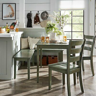 Ebern Designs Lightle 5 Piece Breakfast Nook Dining Set - $172.99 intended for Lillard 3 Piece Breakfast Nook Dining Sets