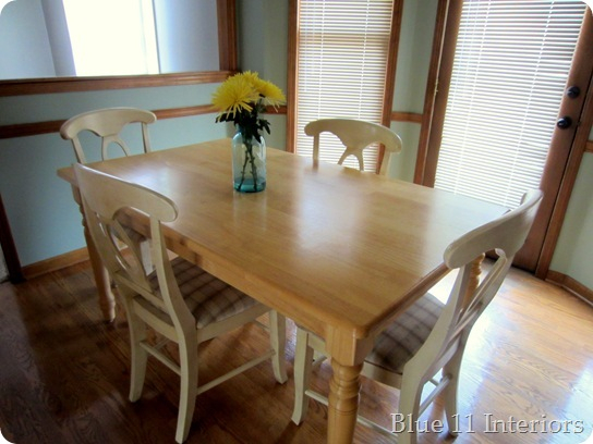 Eleven Ways To Update And Makeover An Outdated Or Damaged Dining Throughout Evellen 5 Piece Solid Wood Dining Sets (Set Of 5) (Photo 25 of 25)
