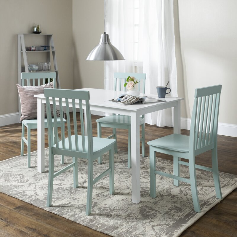 Endicott 5 Piece Dining Set Pertaining To Pattonsburg 5 Piece Dining Sets (Image 9 of 25)