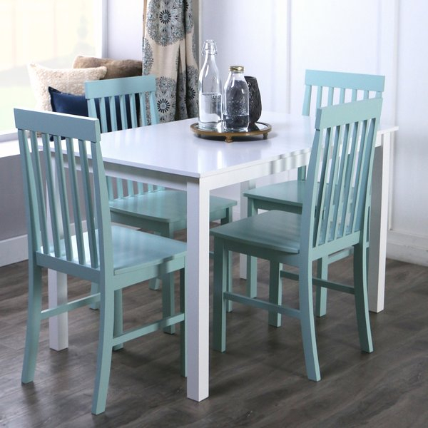 Endicott 5 Piece Dining Set Regarding Pattonsburg 5 Piece Dining Sets (Image 10 of 25)