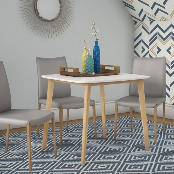 Eppinger Modern Dining Tableebern Designsebern Designs 2019 For Maloney 3 Piece Breakfast Nook Dining Sets (Image 8 of 25)