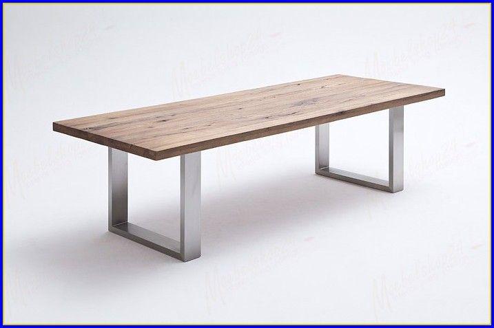 Esstisch Edelstahl Holz Ausziehbar | Tisch | Esstisch Holz, Esstisch Inside Osterman 6 Piece Extendable Dining Sets (Set Of 6) (View 23 of 25)