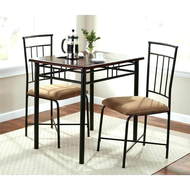 Excellent 3 Piece Dining Set Small Spaces And Living Room Decor With Debby Small Space 3 Piece Dining Sets (Image 6 of 25)