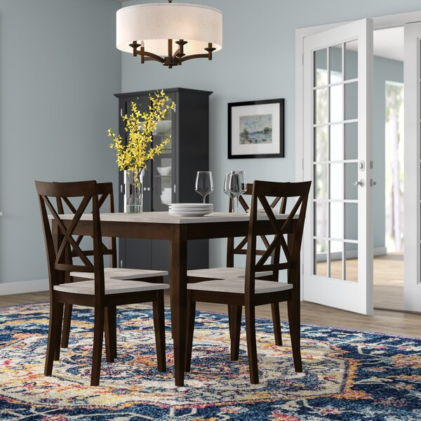 Find Tilley Rustic 5 Piece Dining Setandover Mills Today Only Inside Berrios 3 Piece Counter Height Dining Sets (Image 17 of 25)
