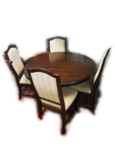 Floor Models – Viking Casual Furniture Pertaining To Adan 5 Piece Solid Wood Dining Sets (Set Of 5) (Image 16 of 25)