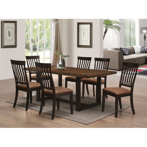 Found It At Joss & Main – Corrine Dining Table | 1110 Furniture Pertaining To Goodman 5 Piece Solid Wood Dining Sets (Set Of 5) (View 13 of 25)