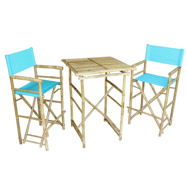 Fresh Aurelio 3 Piece Pub Table Setbay Isle Home 2019 Online Throughout Hanska Wooden 5 Piece Counter Height Dining Table Sets (Set Of 5) (Image 6 of 25)