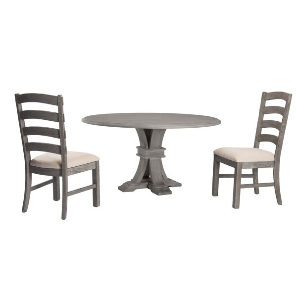 Fresh Carmel 9 Piece Dining Setaugust Grove Herry Up | Dining For Miskell 3 Piece Dining Sets (View 23 of 25)