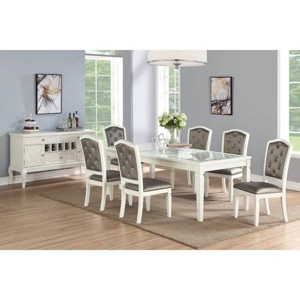 Fresh Chelvey 5 Piece Dining Setcharlton Home Spacial Price With Presson 3 Piece Counter Height Dining Sets (Image 9 of 25)
