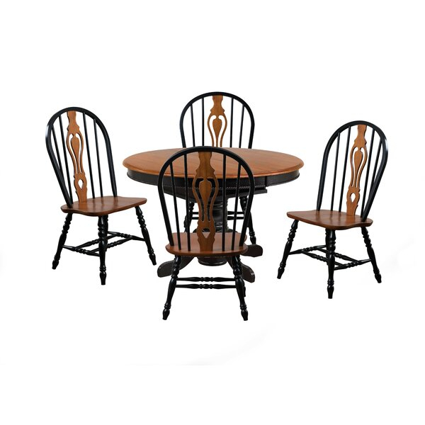 Fresh Ryne 5 Piece Dining Setloon Peak 2019 Sale | Kitchen With Regard To Winsted 4 Piece Counter Height Dining Sets (Image 10 of 25)