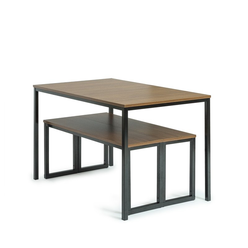 Frida 3 Piece Dining Table Set Throughout Ryker 3 Piece Dining Sets (View 16 of 25)