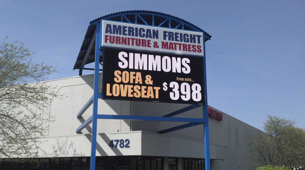 Furniture And Mattress Store In Cincinnati, Oh | American Freight With Regard To Cincinnati 3 Piece Dining Sets (View 25 of 25)