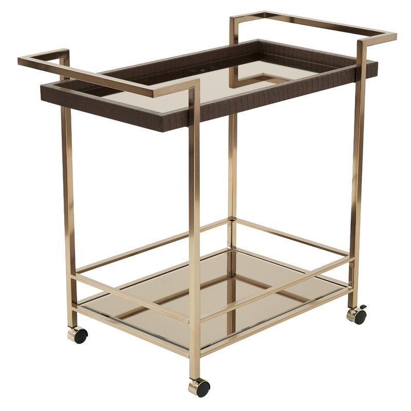 Ganya Bar Cart In Ganya 5 Piece Dining Sets (Image 16 of 25)