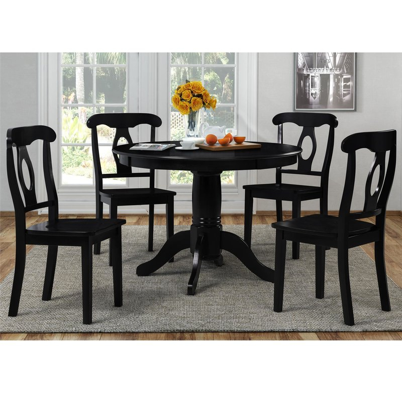 Gaskell 5 Piece Dining Set throughout 5 Piece Dining Sets