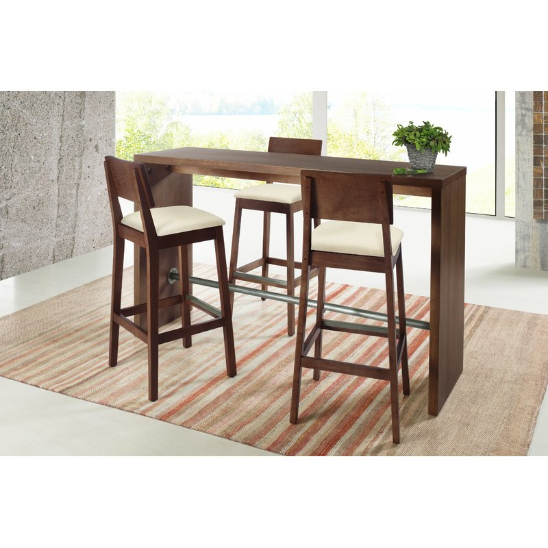 Gourmet 3 Piece Counter Height Pub Table Set throughout West Hill Family Table 3 Piece Dining Sets