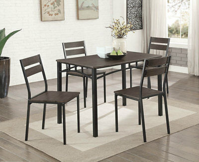 Gracie Oaks Autberry 5 Piece Dining Set With Regard To Emmeline 5 Piece Breakfast Nook Dining Sets (View 7 of 25)