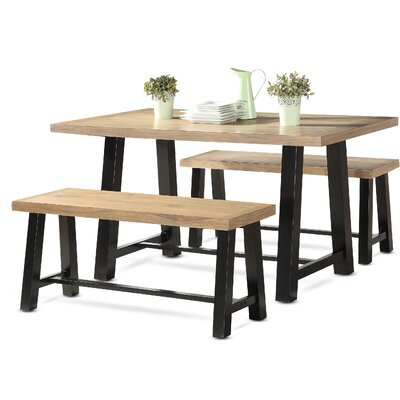 Gracie Oaks Geraghty 3 Piece Dining Set In 2019 | Products | 3 Piece For Bearden 3 Piece Dining Sets (Image 15 of 25)